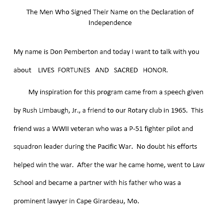 the declaration of independence signing. 23 The Men Who Signed Their