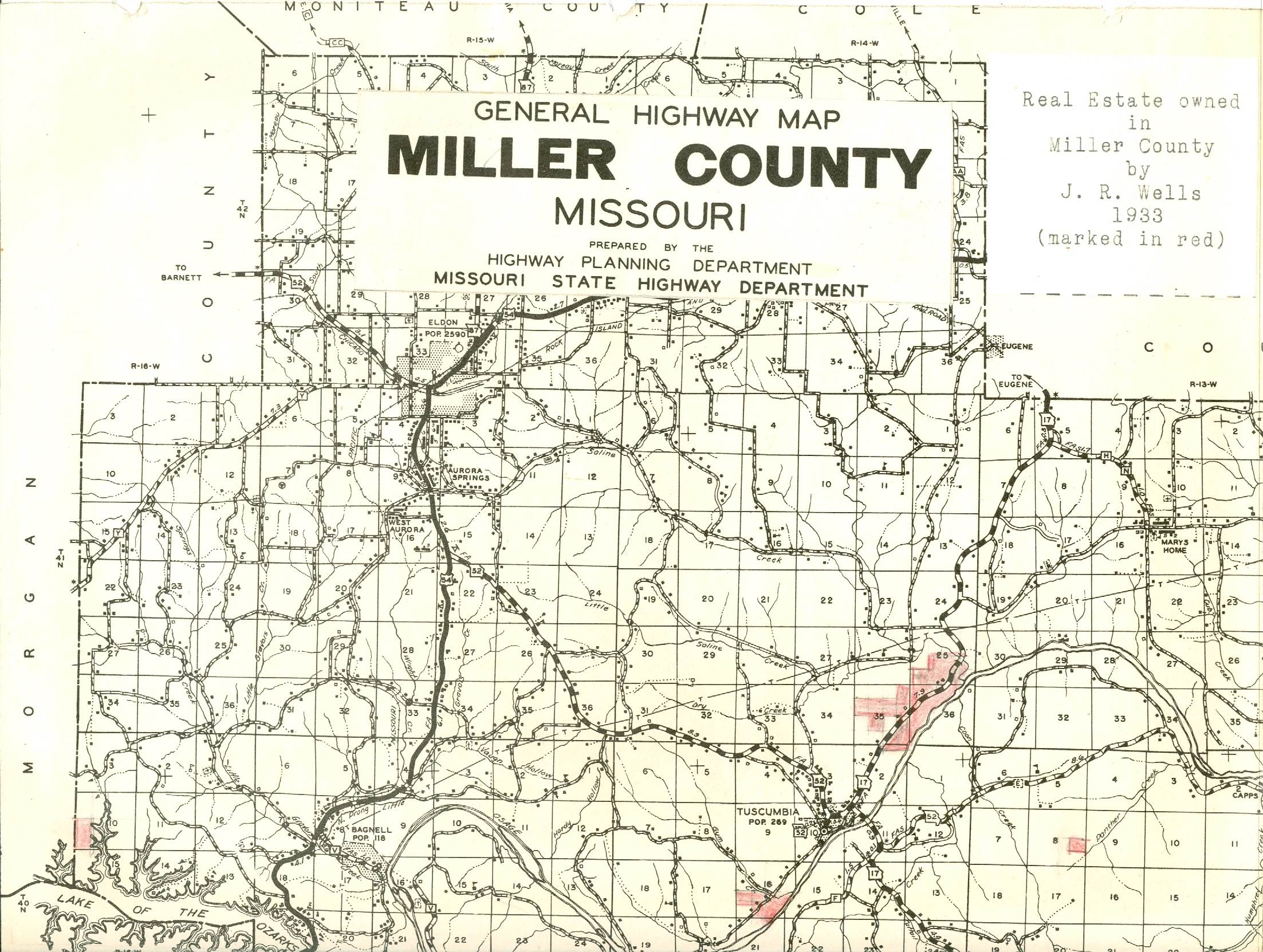 President S Page Miller County Museum Amp Historical Society