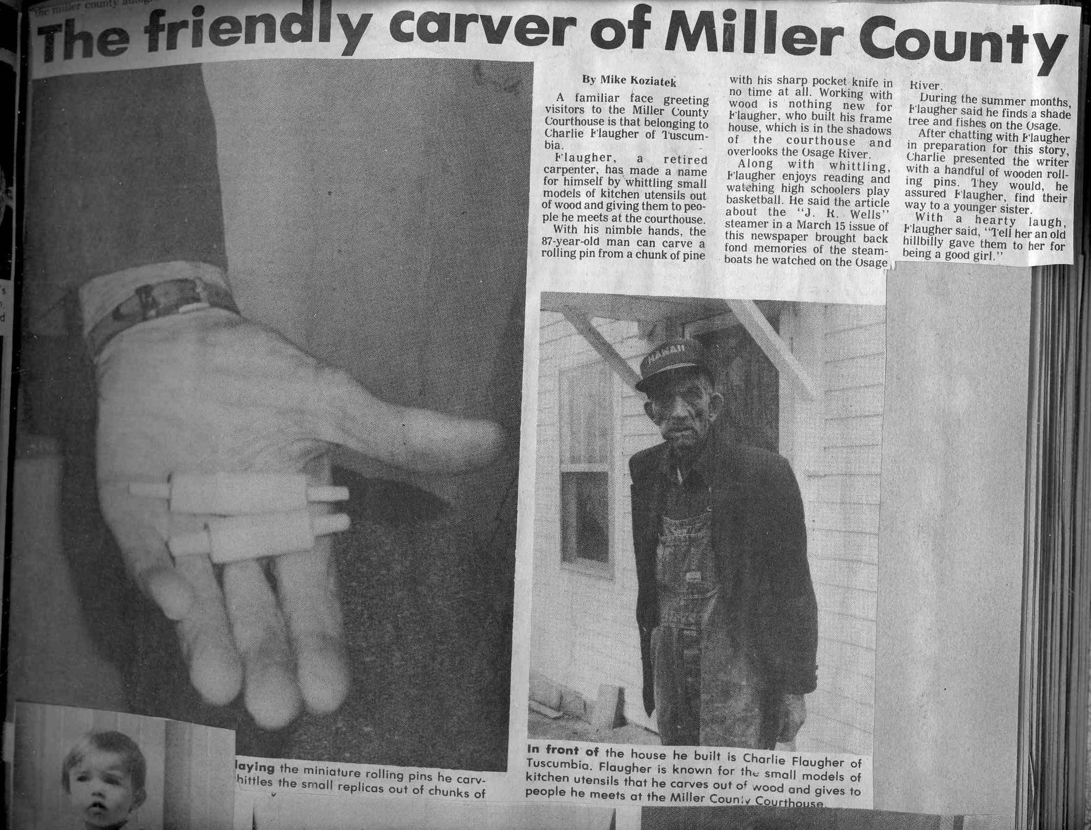 President's Page - Miller County Museum & Historical Society