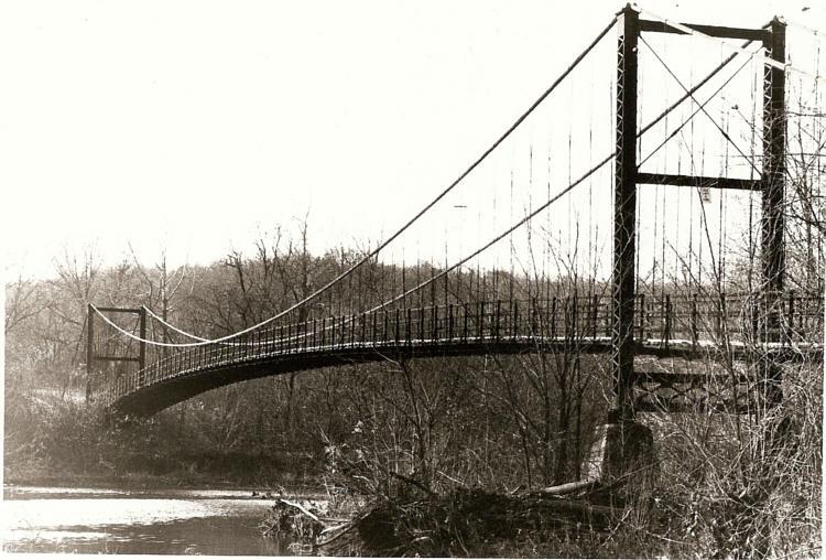 Realize, told... auglaize swinging bridge