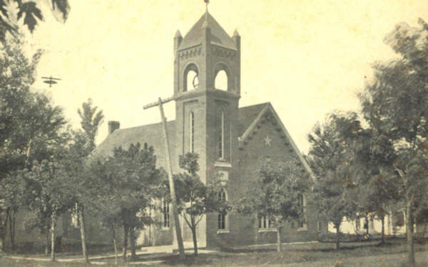 First Christian Church Eldon, Circa 1908