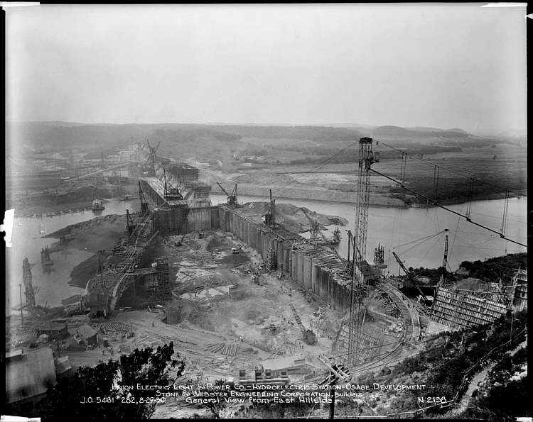 General View of Dam Construction