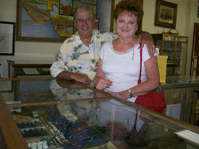 Dr. & Mrs. Haggerty at Museum