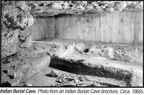 13 Indian Burial Cave Burial Site