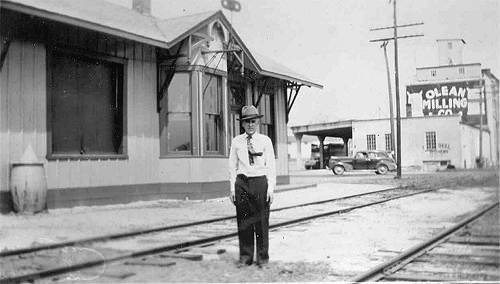 04 Clarence Herfurth, Train Station Master