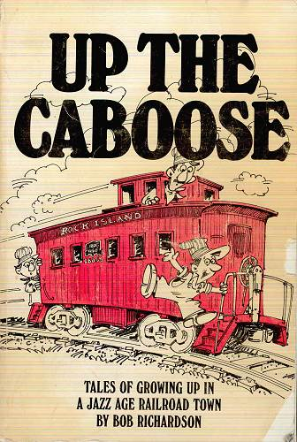 "28 ""Up The Caboose"" Book Cover"