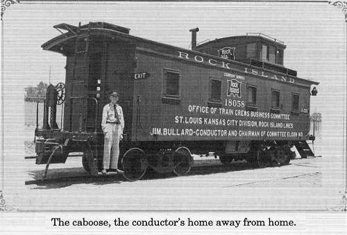 29 Rock Island Caboose - Home Away From Home