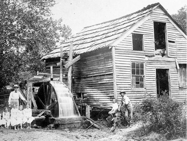03 James Lawrence Wright Carding Machine on Saline Creek