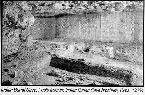 19 Indian Burial Cave Burial Site