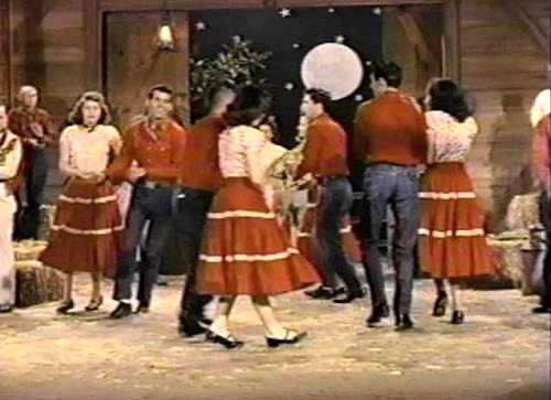 16a Lake of the Ozarks Square Dance Team - 1954
