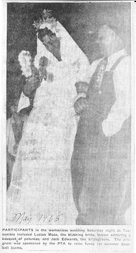 25 Lucian and Jack Edwards Wedding - 1965