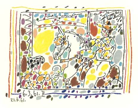 Picasso's Bullfight