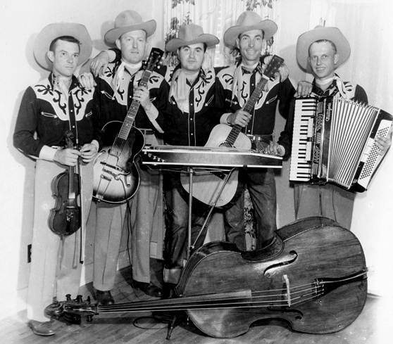 03 Valley Ranch Boys - Jimmy Skiles, Gene Spencer, Buzz Bedwell, Merle Jackson and Ed Shepherd