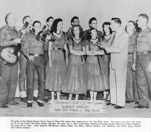 12 Square Dance Team on Ted Mack's Amateur Hour
