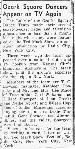 13 Ted Mack Amateur Hour Article