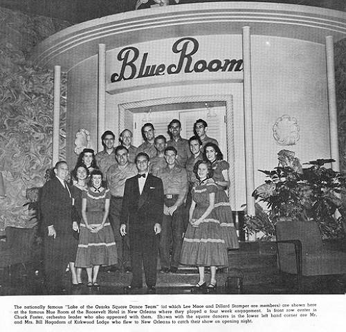 17 Square Dance Team at the Blue Room