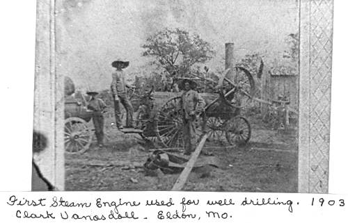 03 First Steam Engine used for Well Drilling