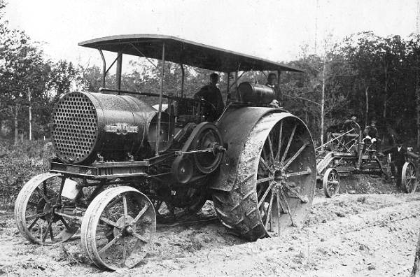 17 Steam Road Grader
