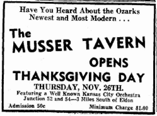 18 Newspaper Ad for Opening