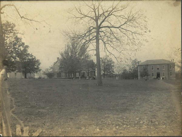The campus, pre 1917